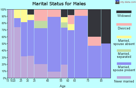Lenox marital status for males