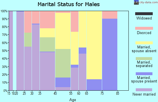 Morgan marital status for males