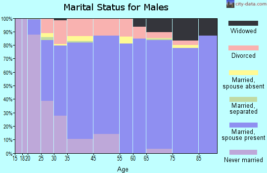Peru marital status for males