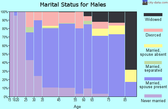 Swansea marital status for males