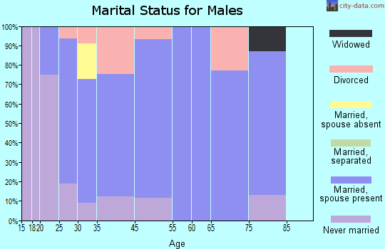Coggon marital status for males