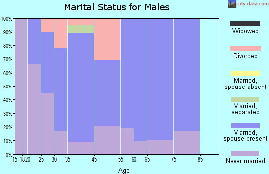 Norway marital status for males