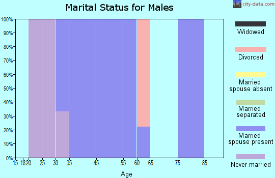 St. Paul marital status for males