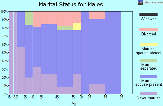 Willow marital status for males