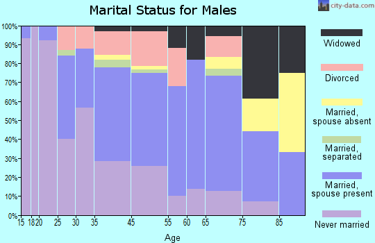 Rayville marital status for males