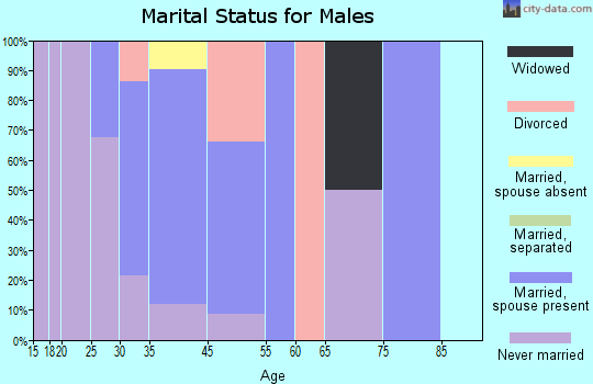 Mountainaire marital status for males