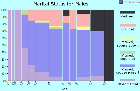 Hopedale marital status for males