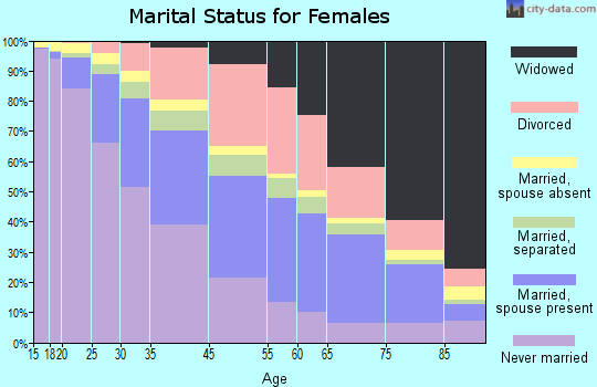 Detroit marital status for females