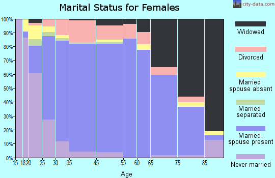 York marital status for females