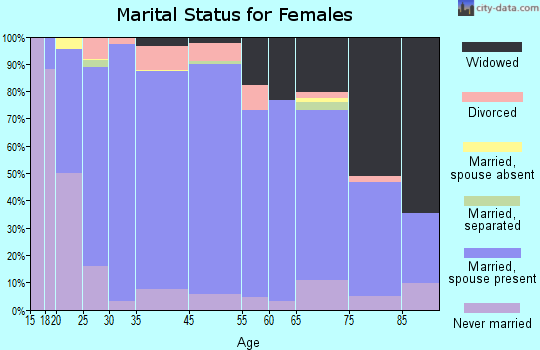 Monsey marital status for females