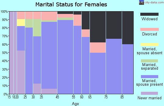 Bethlehem marital status for females