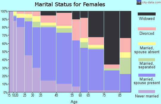 Vincent marital status for females