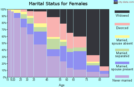 Brownsville marital status for females