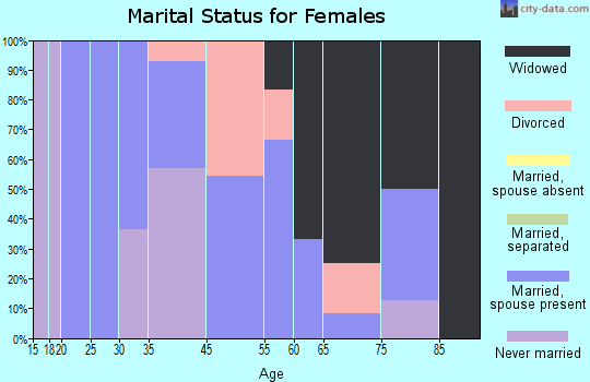 Morgan marital status for females