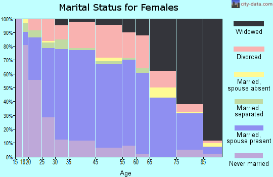 New Castle marital status for females