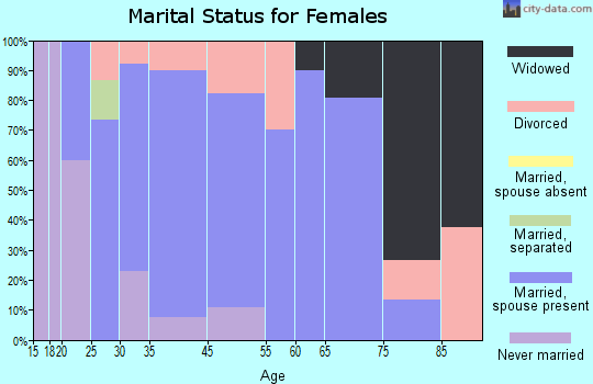 Norway marital status for females