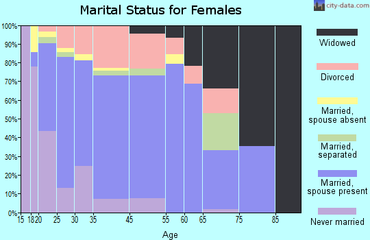 El Mirage marital status for females
