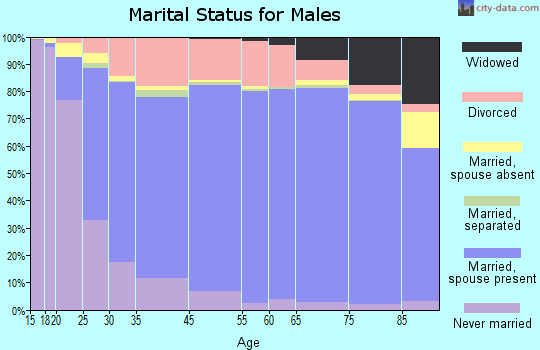 Tooele County marital status for males