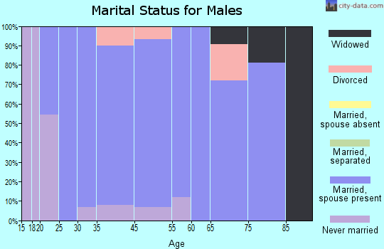 Jo Daviess County marital status for males