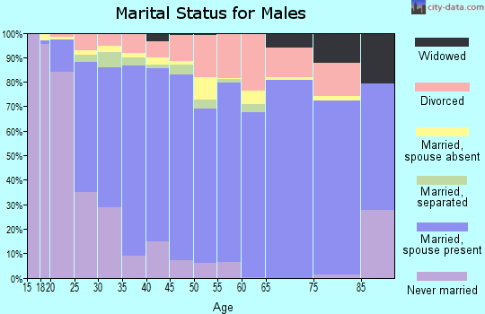 Mahnomen County marital status for males