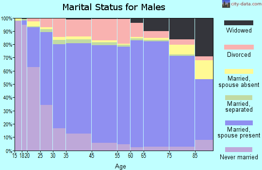 McPherson County marital status for males
