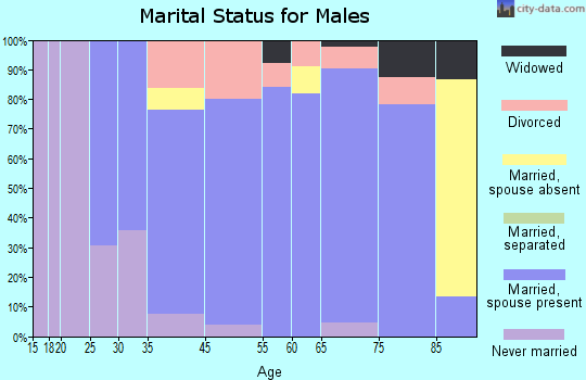 Fort Bend County marital status for males