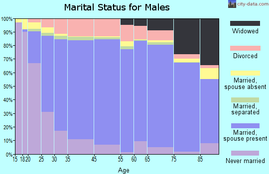 Hardin County marital status for males