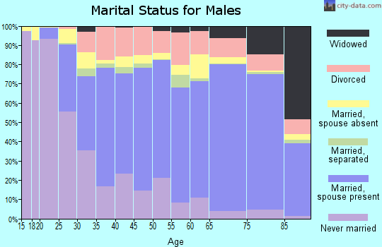 Lipscomb County marital status for males