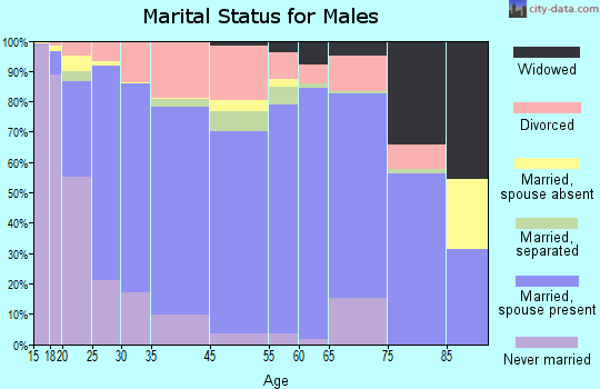 Choctaw County marital status for males
