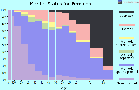 Decatur County marital status for females