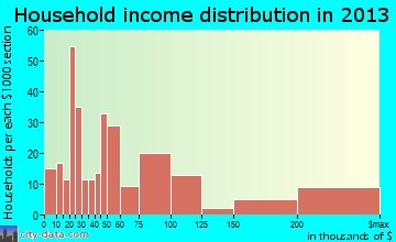 Litchfield Park household income distribution