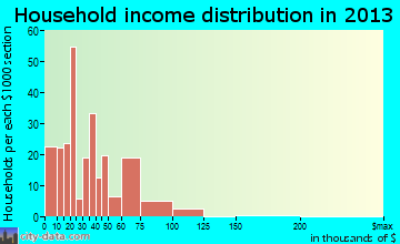 North Conway household income distribution