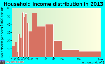 Hopatcong household income distribution