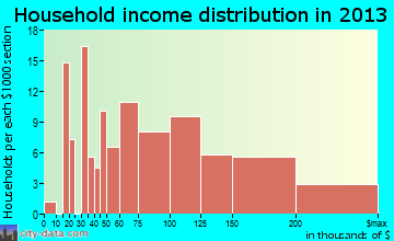 Turnersville, NJ household income