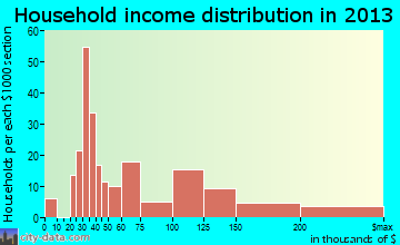 Channel Islands Beach household income distribution
