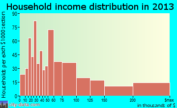 Wyomissing household income distribution