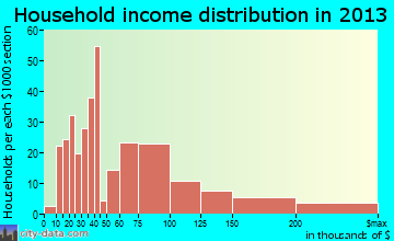New Freedom household income distribution