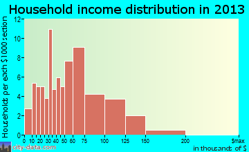 Richlandtown household income distribution