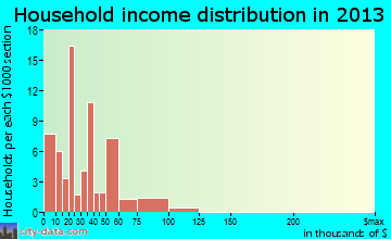 Lott household income distribution