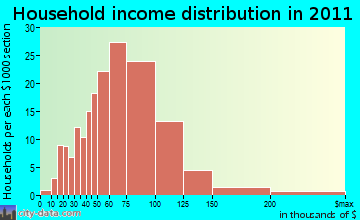 Buchanan household income distribution
