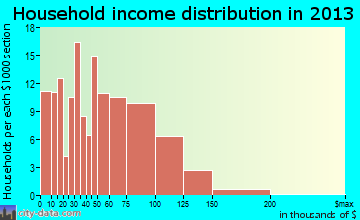 Watkinsville household income distribution