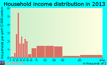 North High Shoals household income distribution
