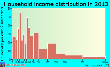 Savoy household income distribution