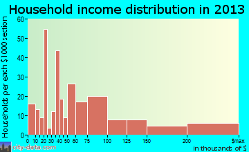 Indian Head Park household income distribution