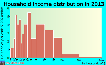 Point Hope household income distribution