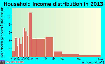 Solon household income distribution