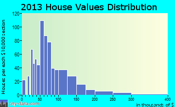 Slayton home values distribution
