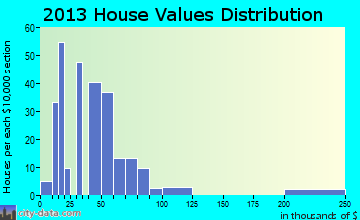 Birch Tree home values distribution