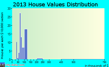 Micro home values distribution