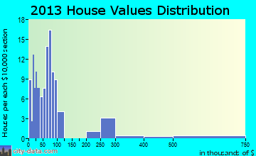 Ketchum home values distribution